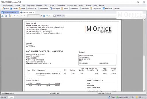 M Office Poslovanje